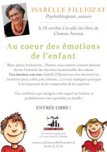 conference isabelle filliozat - au coeur des emotions de l'enfant - chateau-arnoux - parents-epanouis.com